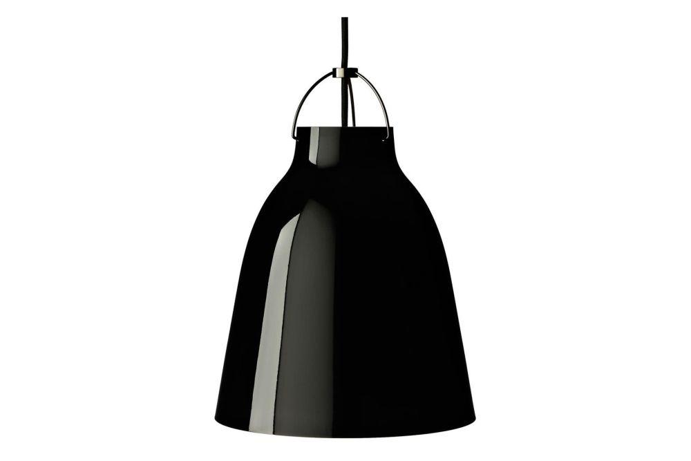 Black, P1 Medium, 3 m cord,Fritz Hansen,Pendant Lights,black,lampshade,light fixture,lighting,outerwear