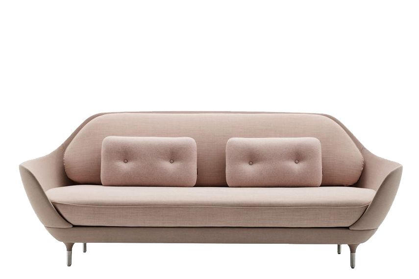 Divina Melange 2 180,Fritz Hansen,Sofas,beige,brown,comfort,couch,furniture,leather,loveseat,sofa bed,studio couch