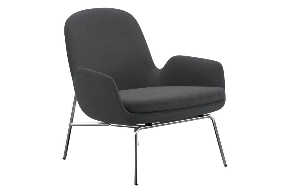 Synergy, Black Powder Coated,Normann Copenhagen,Lounge Chairs