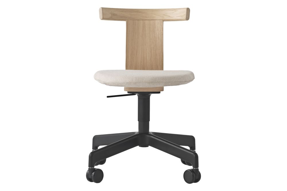 Category 3, Natural Oak, Metal Black, No,Resident,Office Chairs