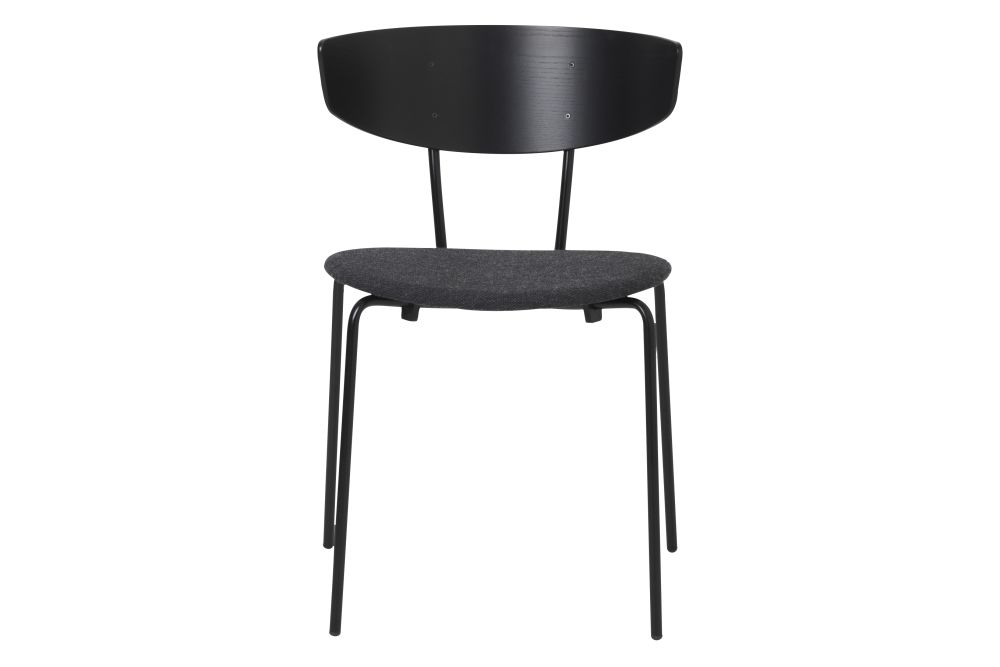 Price Group 5, Powder Coated Black,ferm LIVING,Dining Chairs
