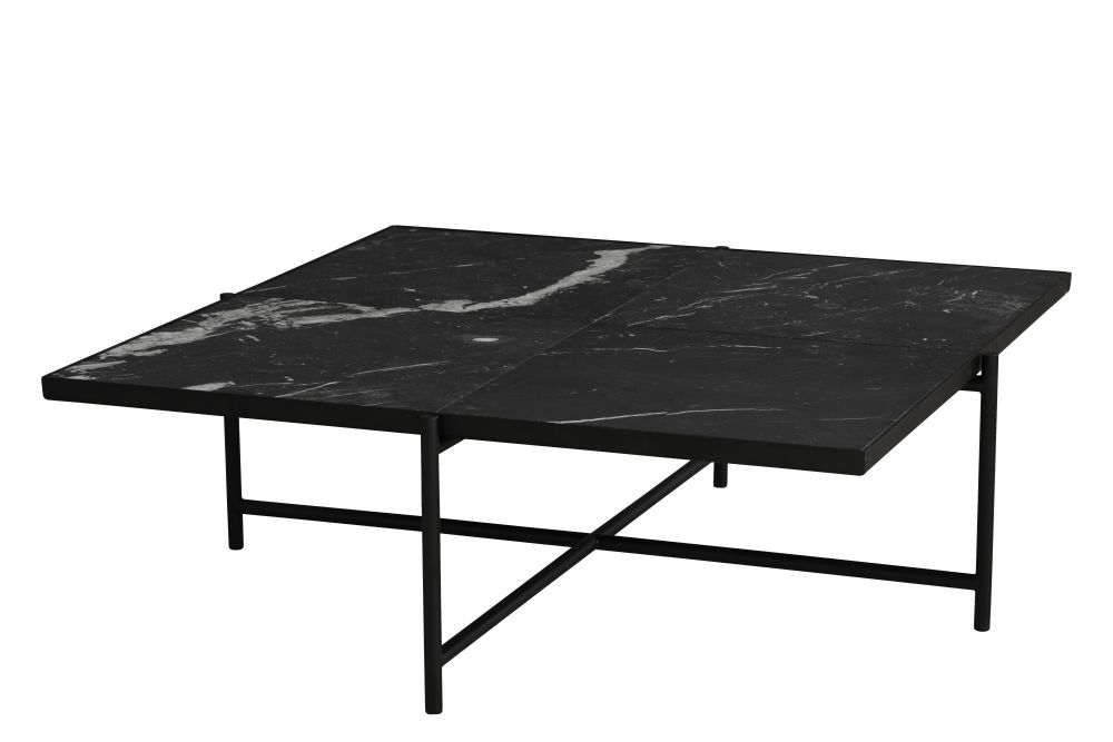Black Marble, Black Base,HANDVÄRK,Coffee & Side Tables,coffee table,furniture,outdoor table,ping pong,rectangle,table