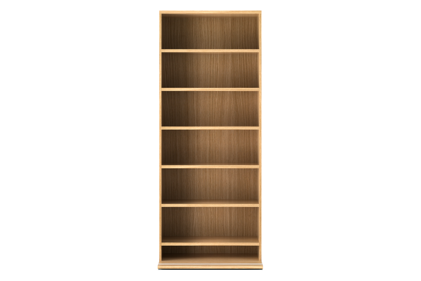 Super-matt Oak,Punt,Bookcases & Shelves