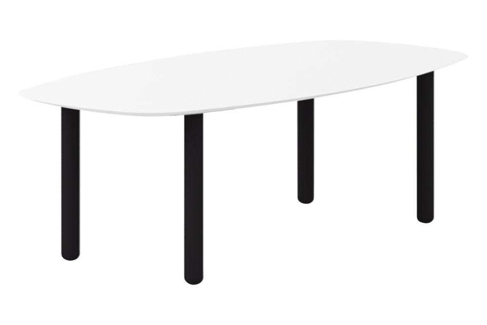 Super-Matt Oak, White Texturised Lacquered, 180cm,Punt,Dining Tables,coffee table,furniture,outdoor table,rectangle,sofa tables,table