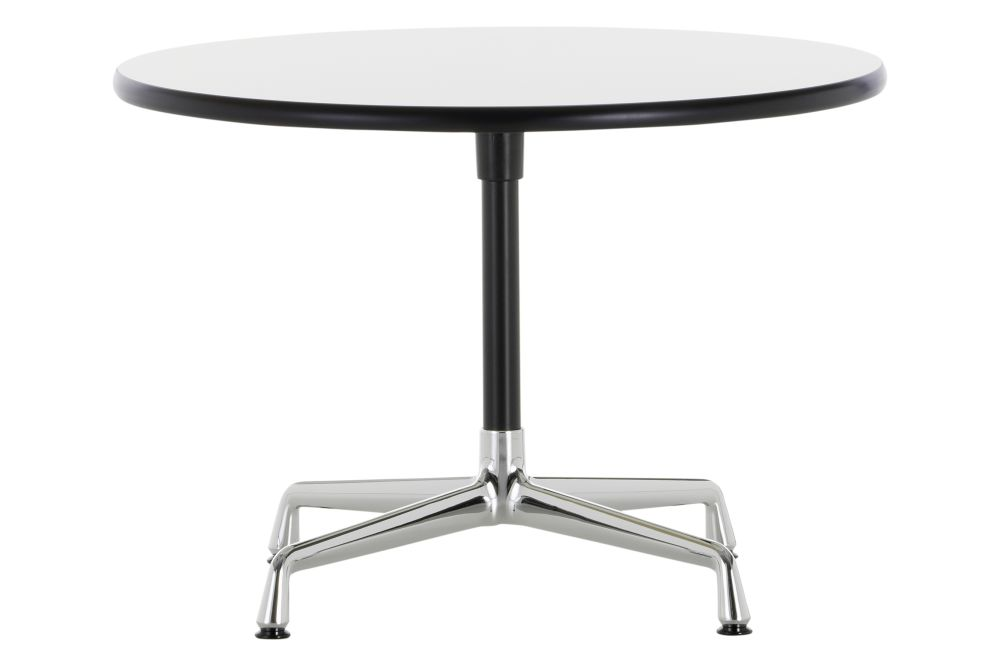 Dark oak with protective varnish01 Chrome5580,Vitra,Coffee & Side Tables