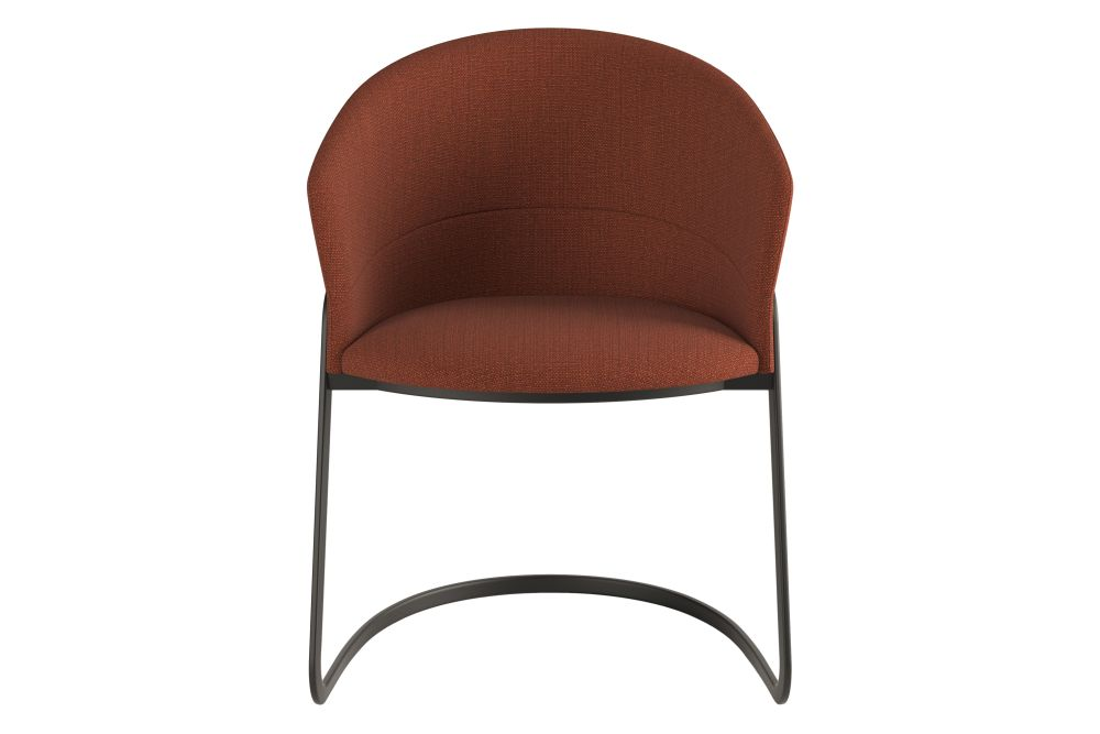 Pricegroup 2, Black RAL 9005, White,Viccarbe,Armchairs