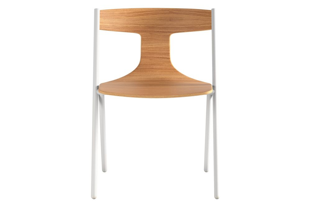 Black RAL 9005, Matt Oak, White, No,Viccarbe,Dining Chairs