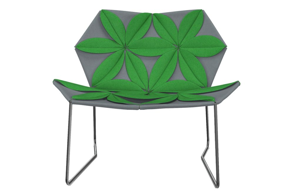 A0867 - Divina 3 623 red, Front Side Petal, A0867 - Divina 3 623 red,Moroso,Armchairs,chair,furniture,green,leaf
