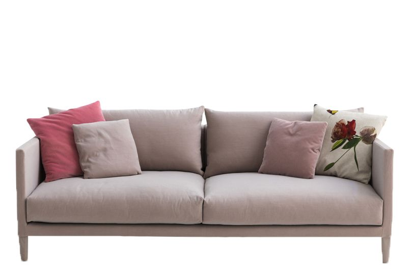 Josh 2 Seater Sofa 190 Ash Grey H,Moroso,Sofas,couch,furniture,loveseat,room,sofa bed,studio couch