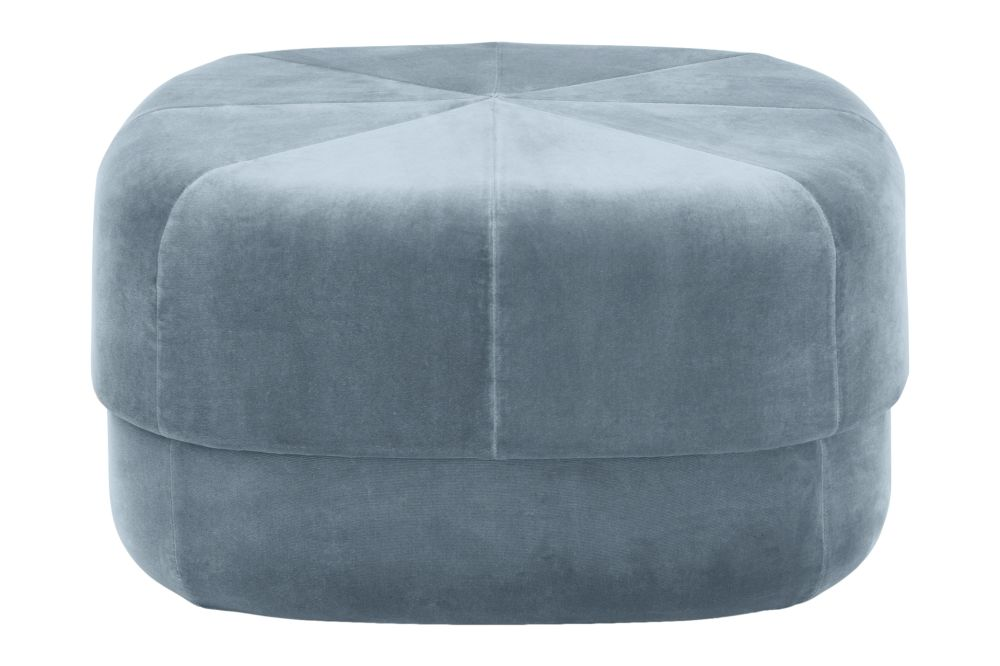 Velour Dark Red, Small,Normann Copenhagen,Footstools,blue,furniture,ottoman,turquoise