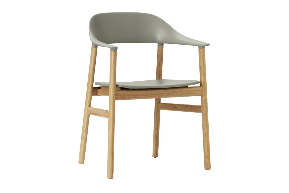 White, Smoked Oak,Normann Copenhagen,Dining Chairs,chair,furniture