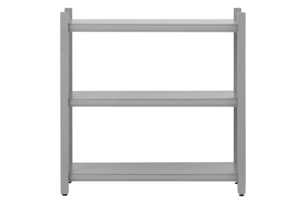 Grey, High, 4 Pillar,Normann Copenhagen,Bookcases & Shelves,furniture,line,table