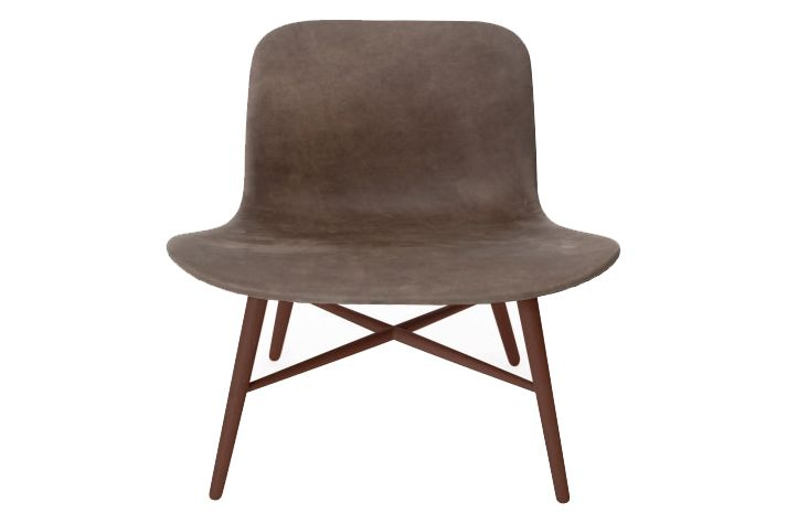 Cuoio Brown Tempur Leather,NORR11,Lounge Chairs,chair,furniture