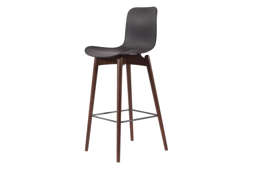Oak Natural, Plastic Off White, Low,NORR11,Stools