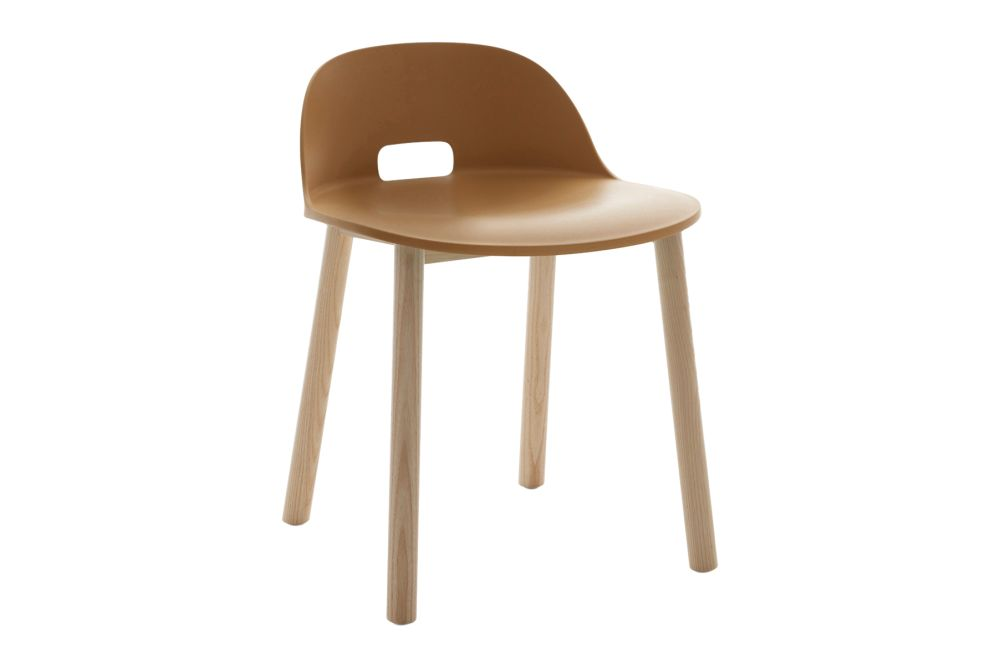 Sand, Natural Light Ash Frame,Emeco,Dining Chairs,beige,chair,furniture