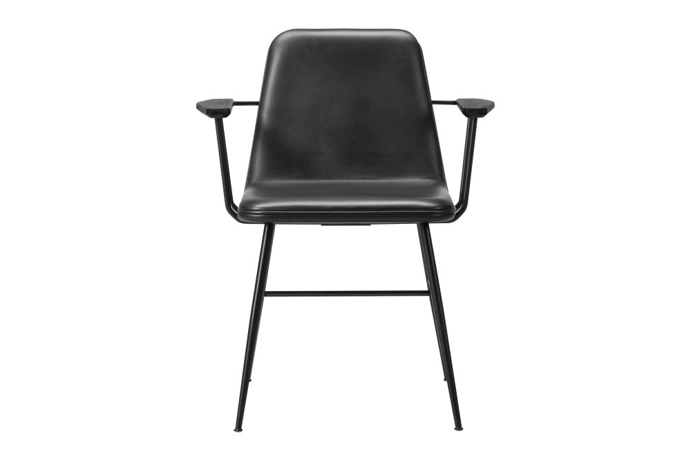 Nubuck 501 Light sand, Black,Fredericia,Dining Chairs,chair,furniture