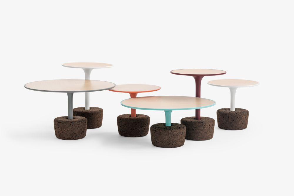 Flora - set of side & coffee tables