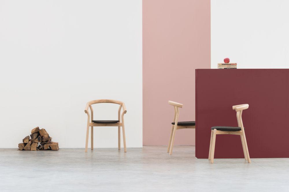 Dora and Dina chair / Ash + Cork