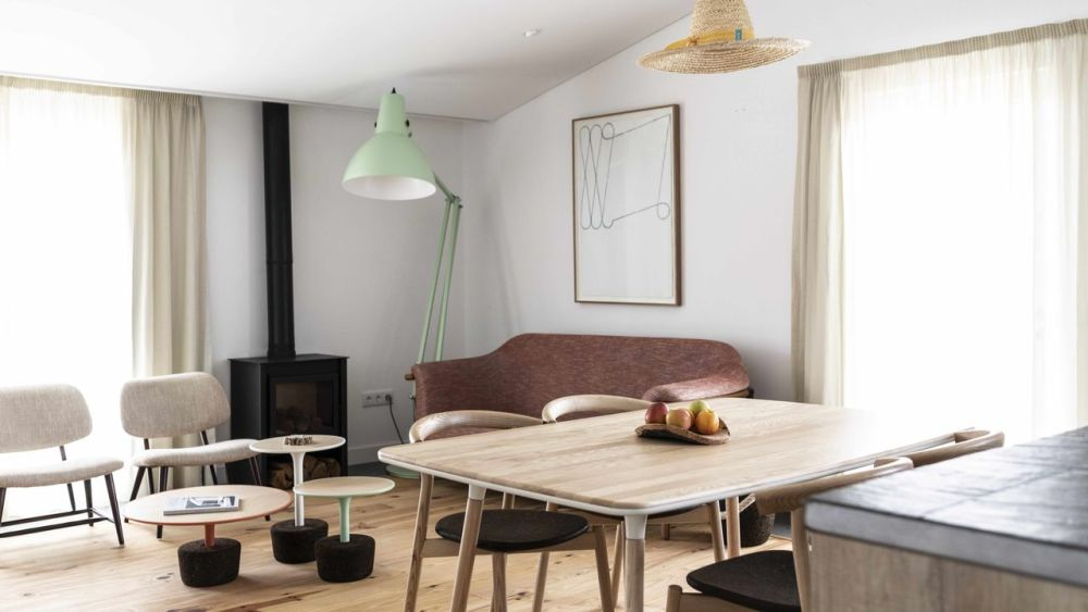 Flora   set of small tables   Project by Craveiral Farmhouse in Portugal