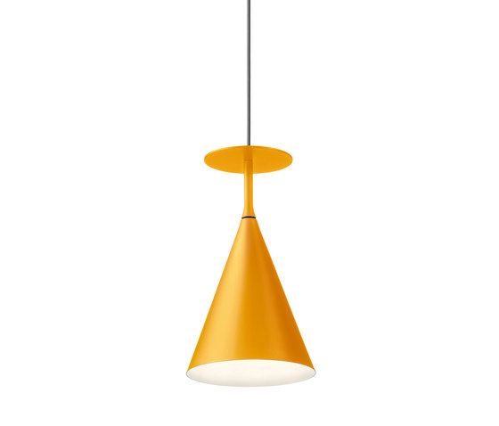 MODO luce,Pendant Lights,ceiling fixture,cone,lamp,light fixture,lighting,orange,yellow