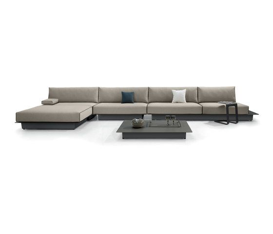 Manutti,Outdoor Furniture,beige,couch,furniture,living room,room,sofa bed,studio couch,table