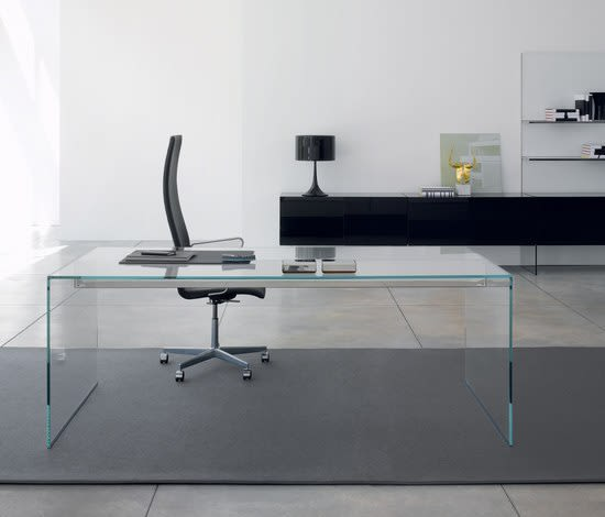 Gallotti&Radice,Office Tables & Desks,coffee table,desk,floor,furniture,glass,interior design,material property,room,table,tile,wall