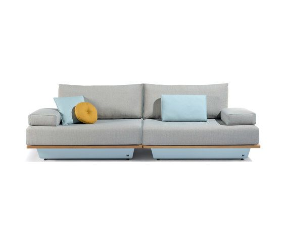 Manutti,Outdoor Furniture,couch,furniture,living room,loveseat,product,room,sofa bed,studio couch,table,turquoise