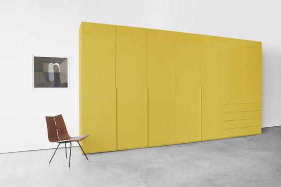 Kettnaker,Wardrobes,cupboard,furniture,interior design,material property,orange,room,sideboard,table,wall,yellow