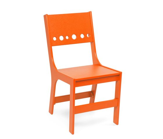 Loll Designs,Dining Chairs,chair,furniture,orange,outdoor furniture