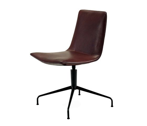 Freifrau Sitzmöbelmanufaktur,Office Chairs,brown,chair,furniture,leather,office chair