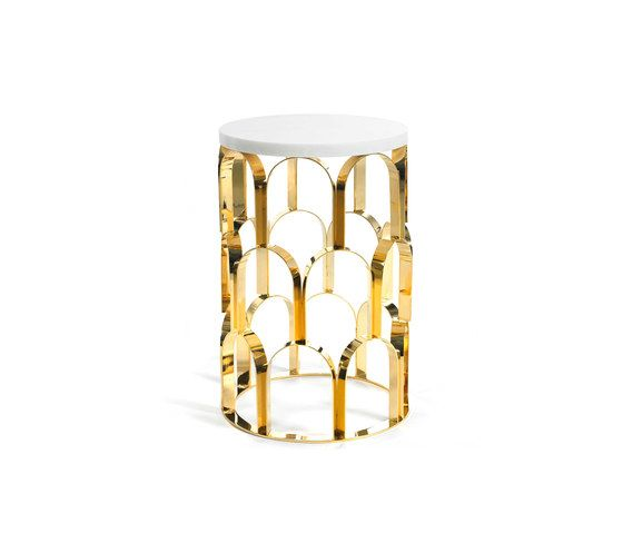 GINGER&JAGGER,Coffee & Side Tables,brass,candle holder,furniture,lighting,metal,stool,table