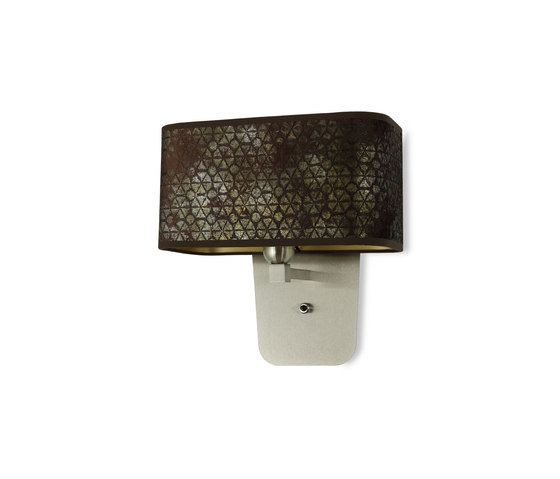 Hind Rabii,Wall Lights,fashion accessory,metal,rectangle,sconce