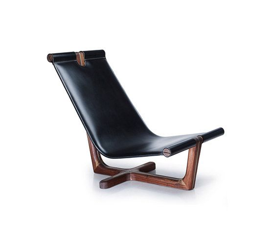 Hookl und Stool,Armchairs,brown,chair,chaise longue,furniture,leather