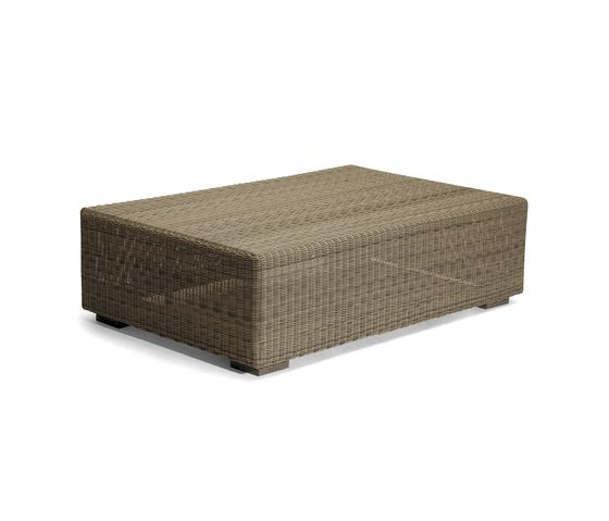 Manutti,Coffee & Side Tables,beige,coffee table,furniture,ottoman,outdoor table,rectangle,table,wicker