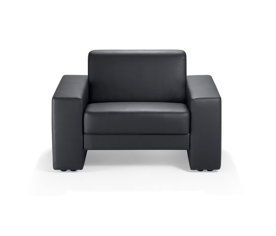 Girsberger,Lounge Chairs,black,chair,club chair,couch,furniture,leather