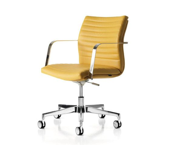Quinti Sedute,Office Chairs,armrest,beige,chair,furniture,line,material property,office chair,product,yellow