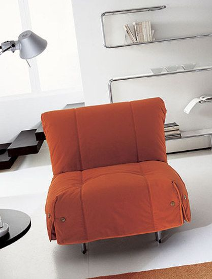 Bonaldo,Beds,chair,comfort,couch,furniture,interior design,lighting,living room,orange,product,room,sofa bed