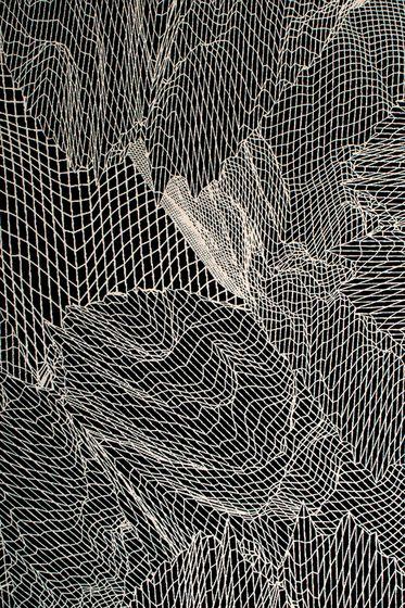 Schönstaub,Rugs,black,black-and-white,design,line,monochrome,monochrome photography,net,pattern