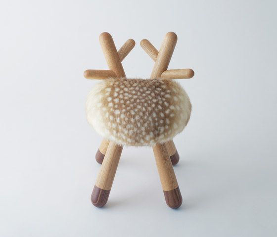 EO,Dining Chairs,antler,beige,deer,fawn,reindeer,stuffed toy,toy,wool