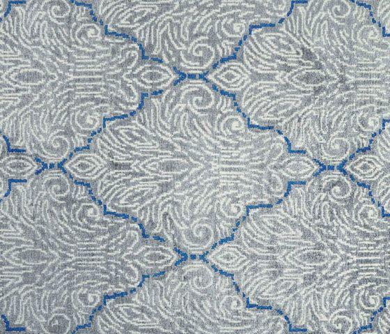 Designers Guild,Rugs,aqua,azure,blue,design,lace,line,motif,pattern,textile