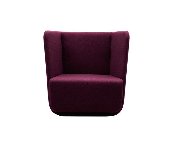 Softline A/S,Lounge Chairs,chair,furniture,magenta,maroon,purple,violet