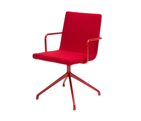 Inno,Office Chairs,chair,furniture,line,material property,office chair,red