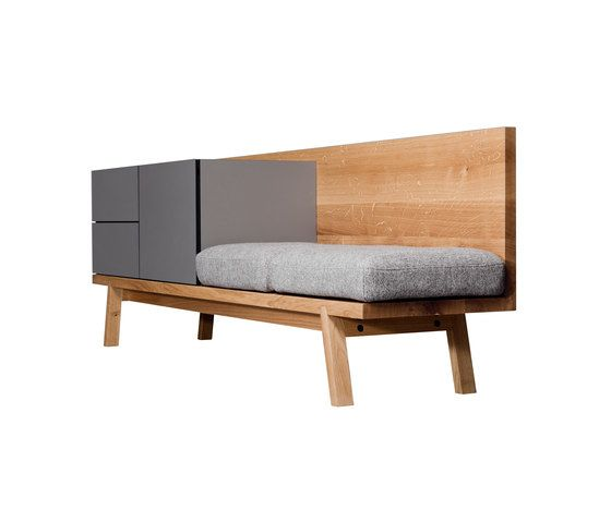 Janua / Christian Seisenberger,Cabinets & Sideboards,bed,furniture,product,studio couch,table,wood