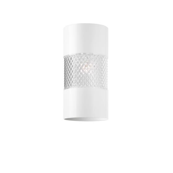 Fabbian,Ceiling Lights,ceiling,cylinder,lighting,silver,white