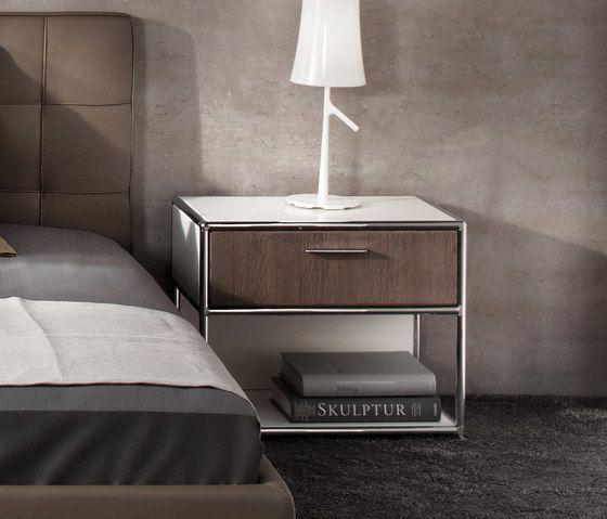 Dauphin Home,Bedside Tables,bed,bedroom,chest of drawers,drawer,floor,furniture,interior design,nightstand,room,table