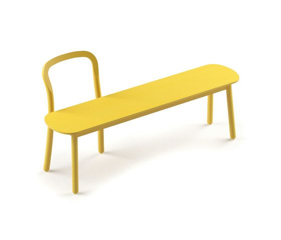 DUM,Benches,bench,furniture,outdoor bench,outdoor furniture,table,yellow