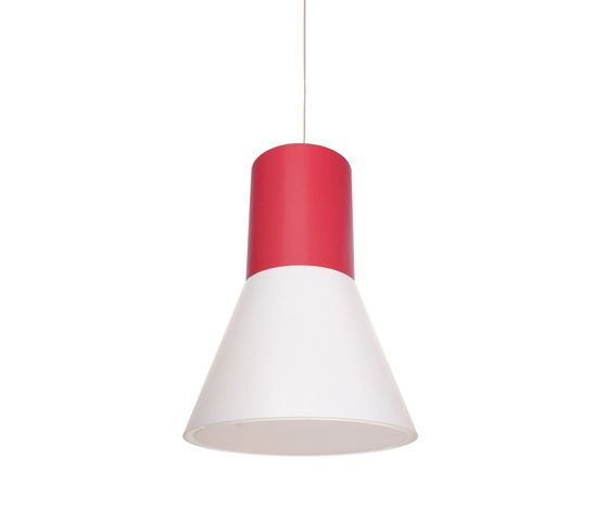 frauMaier.com,Pendant Lights,ceiling fixture,cone,lamp,lampshade,light,light fixture,lighting,lighting accessory,orange,red