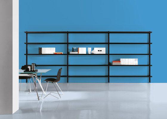 Caimi Brevetti,Bookcases & Shelves,blue,desk,furniture,interior design,line,material property,room,shelf,shelving