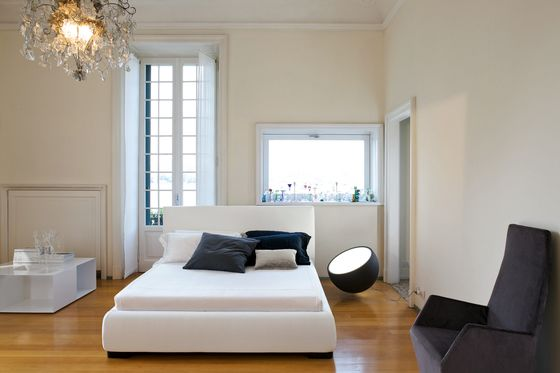 Bonaldo,Beds,architecture,bed,bed frame,bedroom,building,ceiling,comfort,couch,floor,furniture,home,house,interior design,lighting,living room,mattress,property,room,suite,table,wall,wood flooring