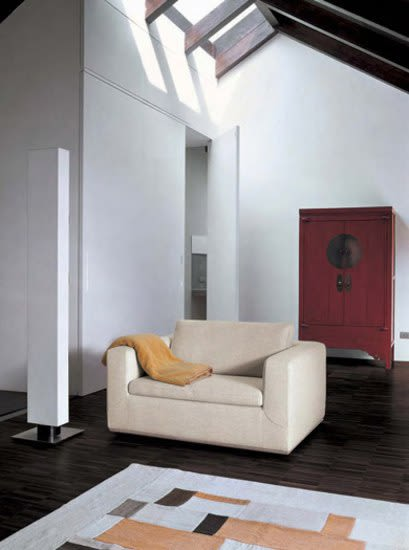 Bonaldo,Armchairs,architecture,building,ceiling,couch,floor,flooring,furniture,home,house,interior design,living room,loft,property,room,wall